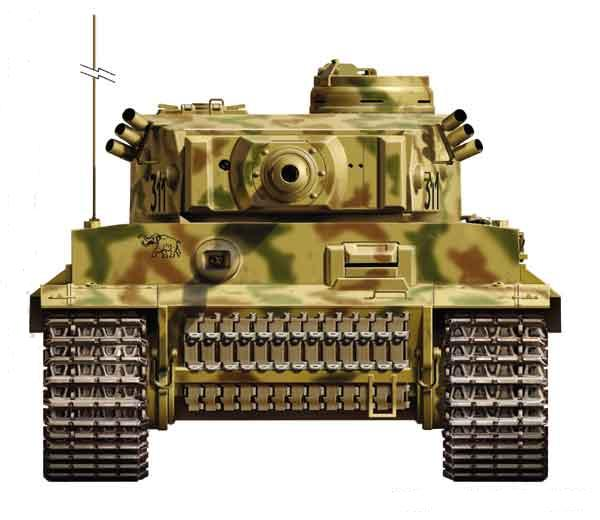 Allemagne Tiger  Ausf E Pzkw VI   (English  Version )