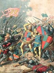 Bataille de Poitiers  19 septembre 1356