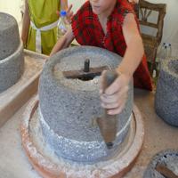 Rome Meules à Grain Rotatives Loupian 2011