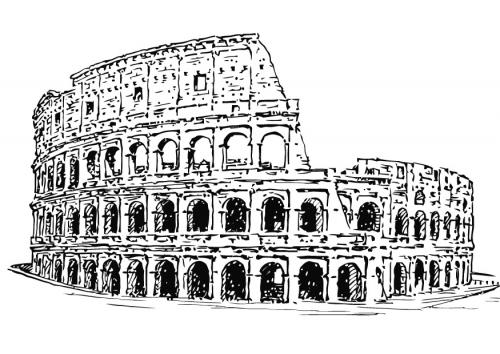 Rome  Amphithéatres du Monde Romain