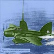 URSS Uchronie Le sous Marin Volant Soviétique  1938