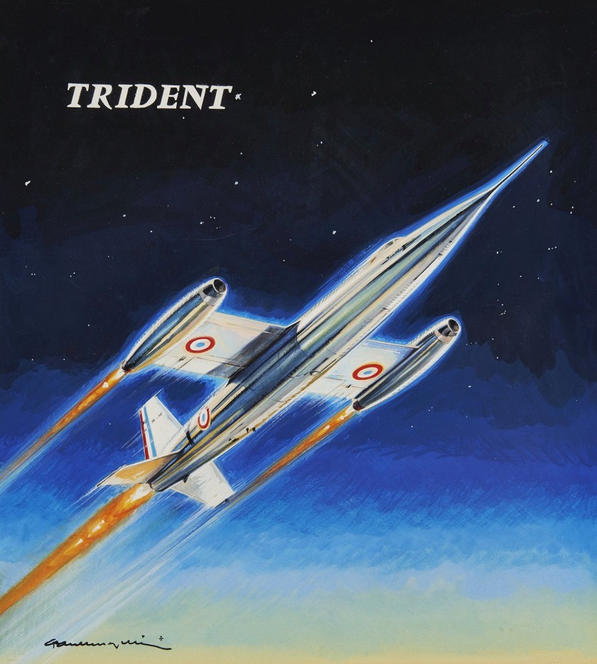 France Aviation  Le Trident SO 9000 et SO 9050