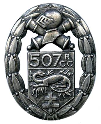 France 1918 Le 507e RCC au combat