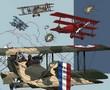 1917 Avions Les silhouettes