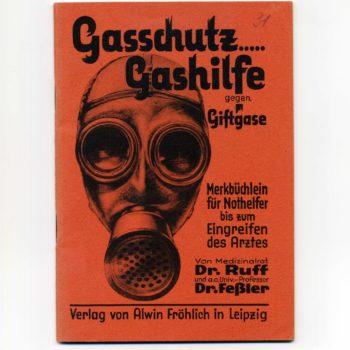 Allemagne  1932 Gasschutz Fibel  1932