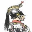 France Napoleon III 1856 Garde Imperiale Les Régiments des Cuirassiers de la Garde