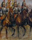 France 1891 Cavalerie  Le 13e Cuirassiers Album Photographies