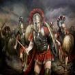 Grèce Bataille des Thermopyles 480 Av JC