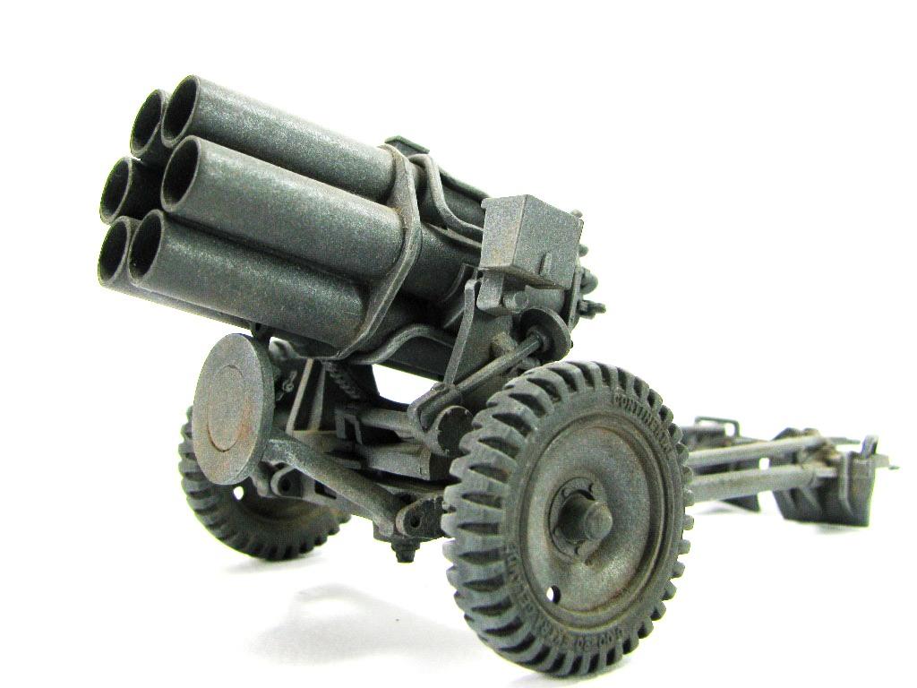 Allemagne Artillerie Nebelwerfer
