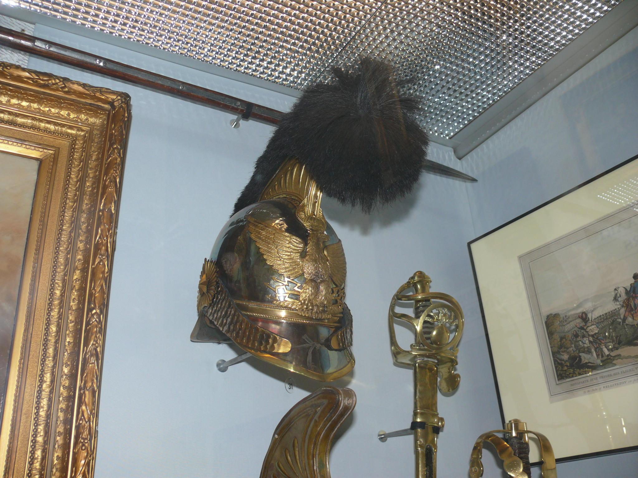 Evolution du casque de pompier FR 1812-2015 France_garde_imperiale_genie_casque_bruxelles