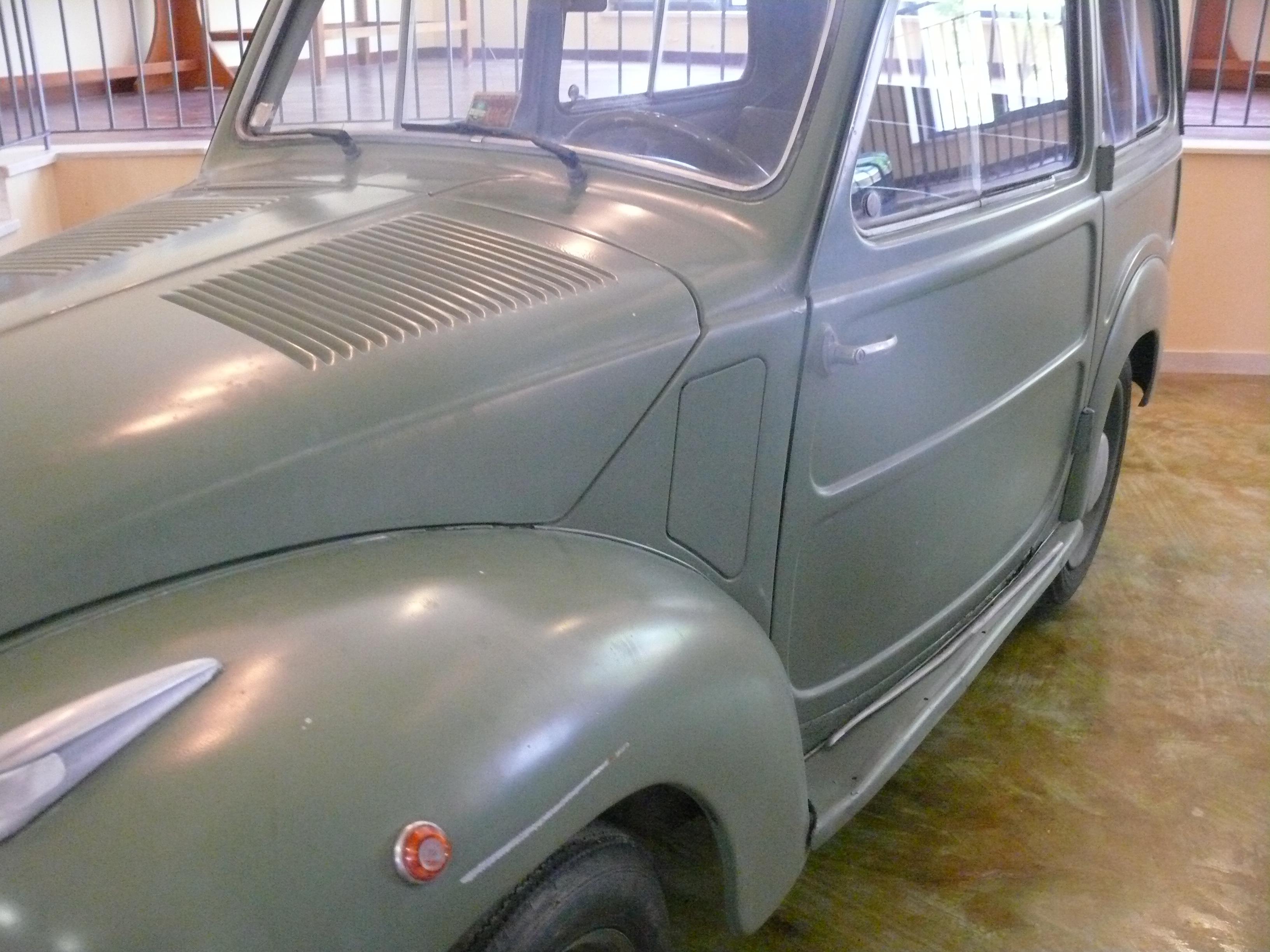 Fiat 500 B Belvedere 1951 Rome Maquetland Com Le Monde