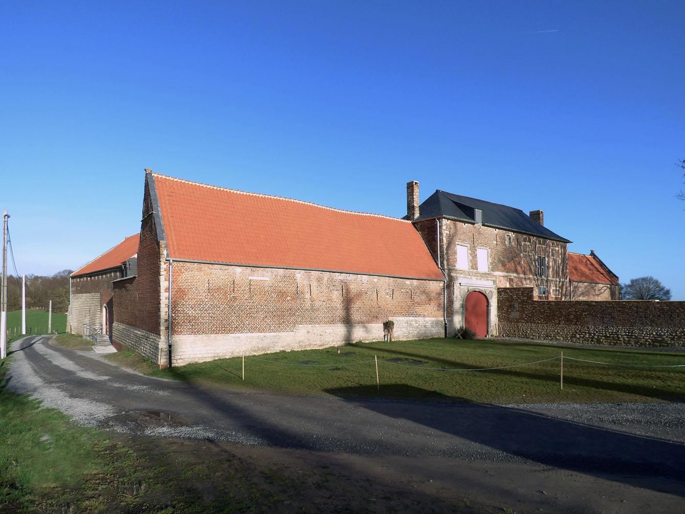 Waterloo ferme d hougomont le monde de for Jardinier belgique