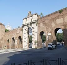 Rome Mura del URBS Rome Mura Aureliane Rione Monti Esquilin Porta San Giovanni