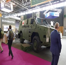 Bushmaster MR 6 Ambulance Eurosatory 2018