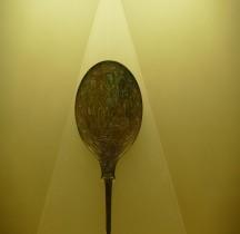 Vie quotidienne Beauté Miroir Bronze Argonautes Rome MNE