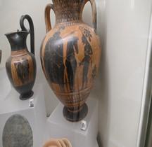Grèce Amphore attique à figures noires  des Guerriers Rome MNE