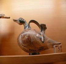 Etrurie Céramique Askos Canard Chuisi Paris