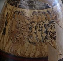 Etrurie Céramique Olpé Chigi Rome Museo nazionale Etrusco Villa Giula