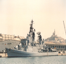 Zerstörer Hessen D 184 Marseille 1988