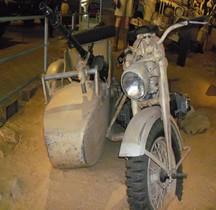Zündapp Schweres Krad mit Beiwagen KS 750 Overloon