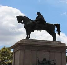 Rome Rione Transtevere Janicule Monumento a Giuseppe Garibaldi