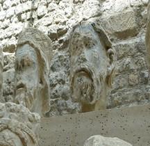 Statuaire Médiévale Paris Notre Dame Têtes Rois de Judas Musée de Cluny