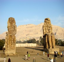 Egypte  Colosses de Memnon
