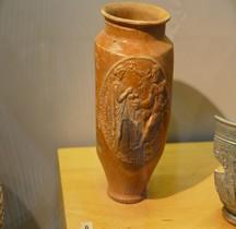 Rome Céramique Scyphus Goblet Medaillon Hercules Arles  MAA