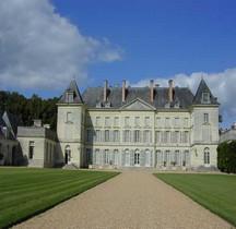Maine et Loire Mazé Chateau de Montgeoffroy