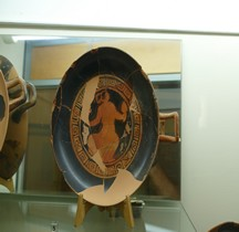Etrurie Céramique Kylis Femme Filant de la Laine Marzabotto