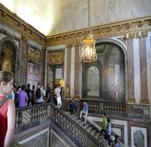Yvelines Versailles Chateau Loggia Escalier Reine