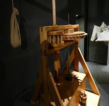 Leonardo da Vinci Pressoir Huile Florence Maquette