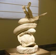 Statuaire Rome Eros con Delfino Naples MAN