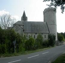 Maine et Loire Trèves Eglise St Aubin