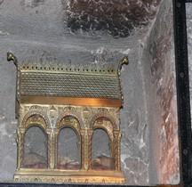 Hérault St Guilhem le Désert Abbatiale Reliques