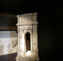 Ancone Arc de triomphe de Trajan Maquette EUR Rome