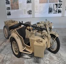 Zündapp Schweres Krad mit Beiwagen KS 750 Munster