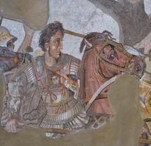Mosaïque Rome Italie Pompéï Maison Faune Mosaico di Alessandro Naple MAN