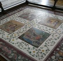 Mosaïque Rome Italie Rome Tivoli Mosaico con maschere sceniche Gabinetto Maschere Vatican