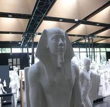 Egypte Pharaon 03e Dynastie 3.4 Khéphren Le Caire Copie Montpellier