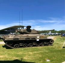 Char Moyen Sherman M4A1E8 Dauntless Selfridge ANG Base