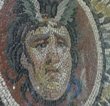 Mosaïque Rome Turquie Mosaïque à la Gorgone  Mougins