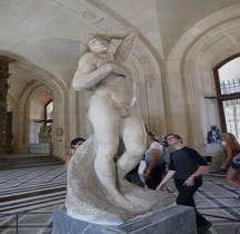 2 Statuaire Renaissance Esclaves Esclave Mourant Michel Ange Paris Louvre