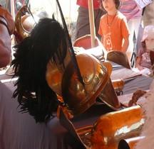 Gladiateur Thrace Casque Loupian 2012