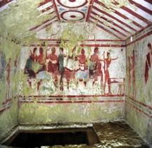 6 Etrusques Nécropole Tarquinia Nécropole dei Monterozzi Tomba di Claudio Bettini