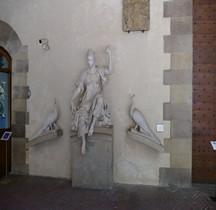 Florence Palazzo Vecchio  Fontana Salla Grande  Junon et les Paons Bargello