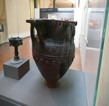 Etrurie Céramique Cratère Tetrasanto Bucchero  Florence