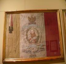 1849 Republique Romaine Drapeau Commémoratif