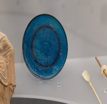 Rome Verrerie Catillus Assiette Bleue Rome Palazzo Massimo