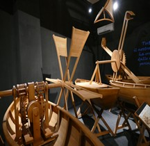 Leonardo da Vinci Barque à Pédales et Pales Florence Maquette